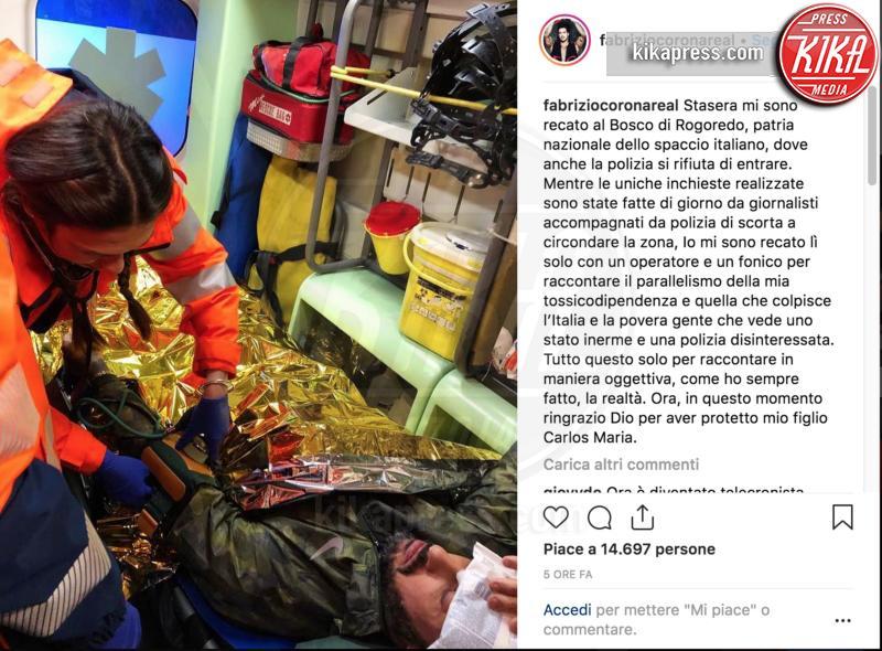 Fabrizio Corona - Milano - 11-12-2018 - Non c'è pace per Corona: i ladri fanno irruzione nella sua casa