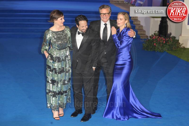 Lin-Manuel Miranda, Emily Blunt, Colin Firth, Emily Mortimer - Londra - 12-12-2018 - Il ritorno di Mary Poppins: il red carpet di Londra