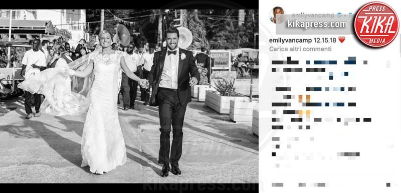 Emily Vancamp ha detto si': da Revenge... all'altare!