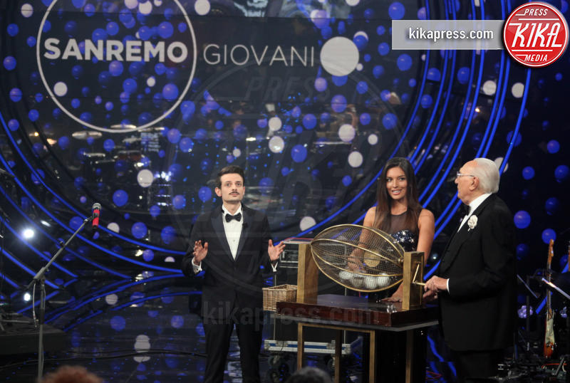 Fabio Rovazzi, Pippo Baudo - Sanremo - 20-12-2018 - Sanremo 2019, Giovani, Einar vince ed e' promosso tra i big