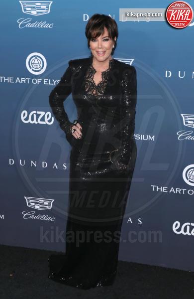 Kris Jenner - Los Angeles - 05-01-2019 - Emily Ratajkowski: regina rossa all'Art of Elysium Heaven Gala