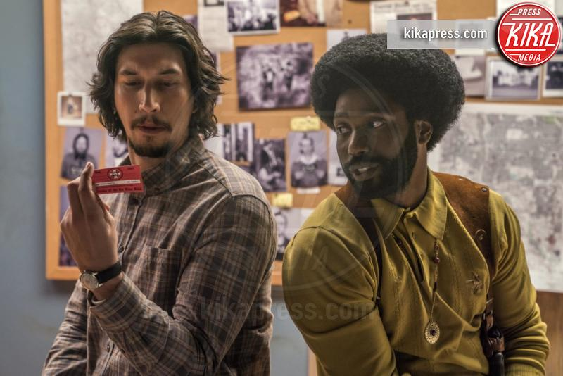 BlacKkKlansman, John David Washington, Adam Driver - Hollywood - 07-01-2019 - Golden Globe 2019: Rami Malek Miglior attore drammatico