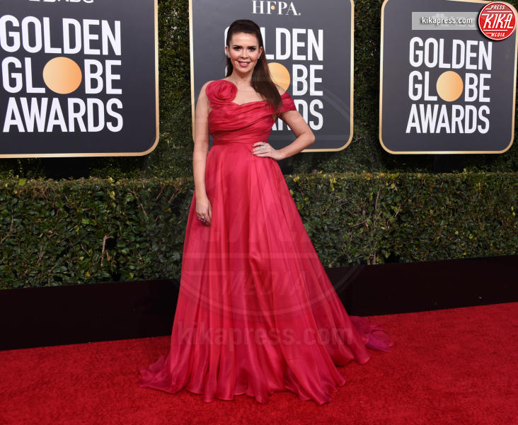 Carly Steel - Beverly Hills - 06-01-2019 - Golden Globe 2019: sul red carpet vince... il rosso!
