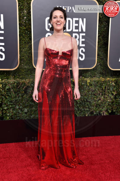 Phoebe Waller-Bridge - Beverly Hills - 06-01-2019 - Golden Globe 2019: sul red carpet vince... il rosso!