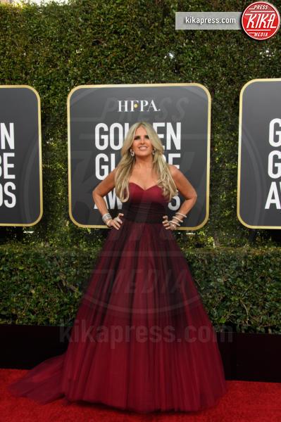 Tiziana Rocca - Beverly Hills - 06-01-2019 - Golden Globe 2019: sul red carpet vince... il rosso!