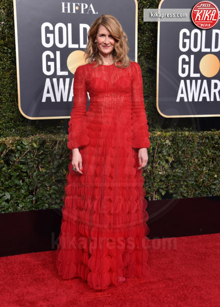 Laura Dern - Beverly Hills - 06-01-2019 - Golden Globe 2019: sul red carpet vince... il rosso!