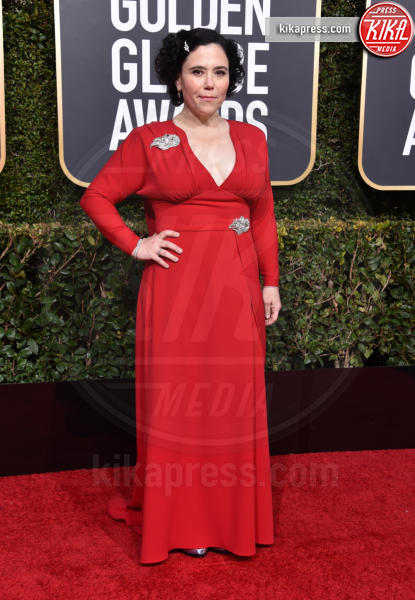Alex Borstein - Beverly Hills - 06-01-2019 - Golden Globe 2019: sul red carpet vince... il rosso!