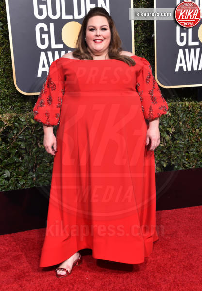 Chrissy Metz - Beverly Hills - 06-01-2019 - Golden Globe 2019: sul red carpet vince... il rosso!