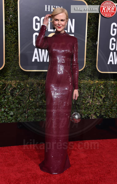 Nicole Kidman - Beverly Hills - 06-01-2019 - Golden Globe 2019: sul red carpet vince... il rosso!