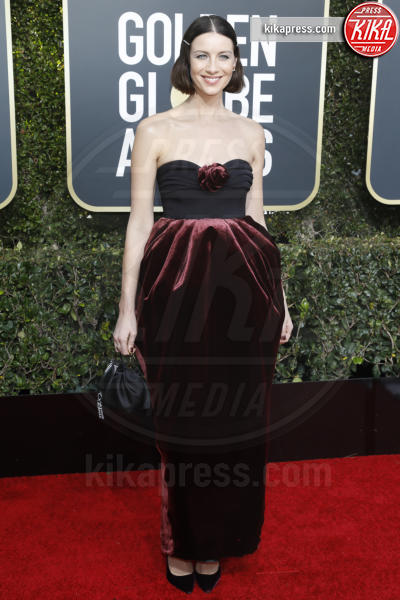 Caitriona Balfe - Beverly Hills - 06-01-2019 - Golden Globe 2019: sul red carpet vince... il rosso!