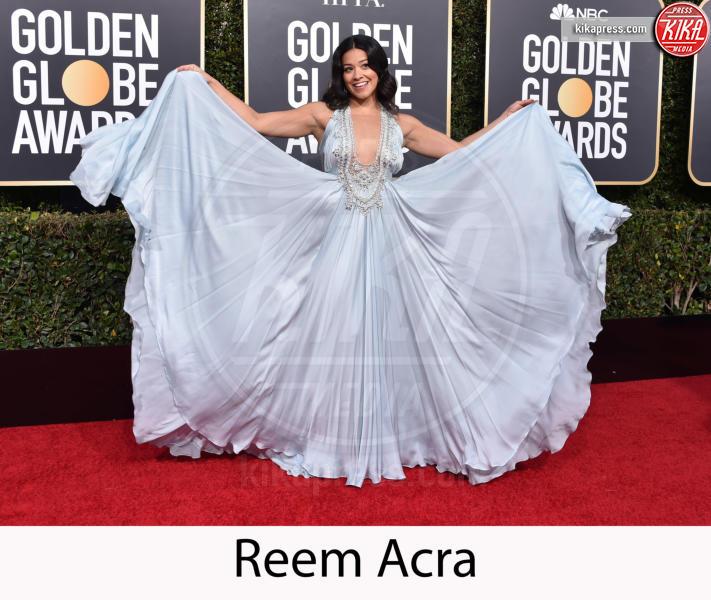 Gina Rodriguez - Beverly Hills - 06-01-2019 - Golden Globe 2019: gli stilisti sul red carpet