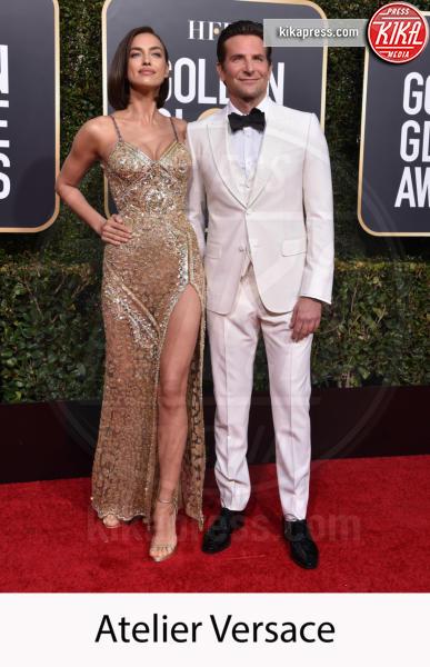 Irina Shayk, Bradley Cooper - Beverly Hills - 06-01-2019 - Golden Globe 2019: gli stilisti sul red carpet