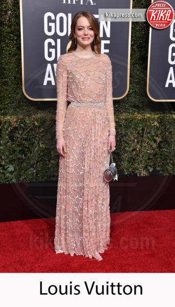 Emma Stone - Beverly Hills - 06-01-2019 - Golden Globe 2019: gli stilisti sul red carpet