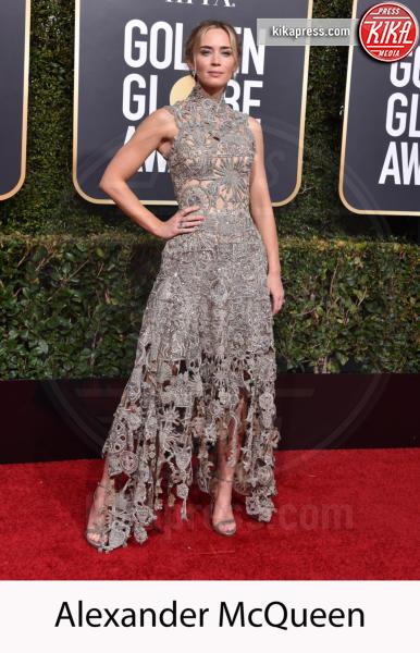 Emily Blunt - Beverly Hills - 06-01-2019 - Golden Globe 2019: gli stilisti sul red carpet