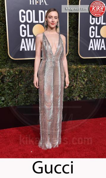 Saoirse Ronan - Beverly Hills - 06-01-2019 - Golden Globe 2019: gli stilisti sul red carpet