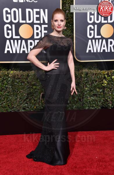 Jessica Chastain - Beverly Hills - 06-01-2019 - Golden Globe 2019: gli stilisti sul red carpet