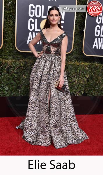 Anne Hathaway - Beverly Hills - 06-01-2019 - Golden Globe 2019: gli stilisti sul red carpet