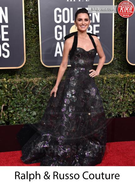 Penelope Cruz - Beverly Hills - 06-01-2019 - Golden Globe 2019: gli stilisti sul red carpet