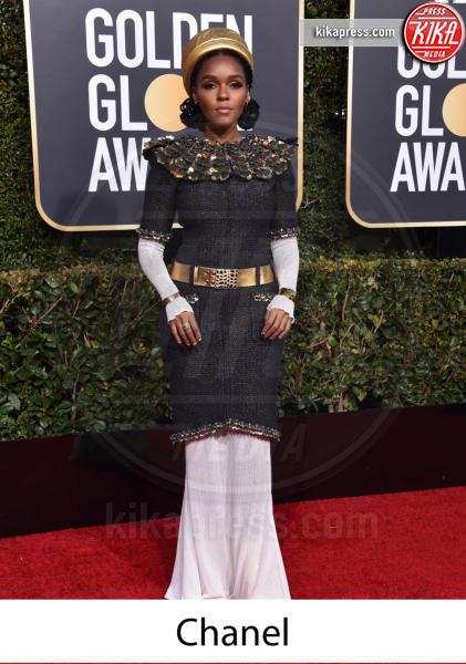 Janelle Monae - Beverly Hills - 06-01-2019 - Golden Globe 2019: gli stilisti sul red carpet