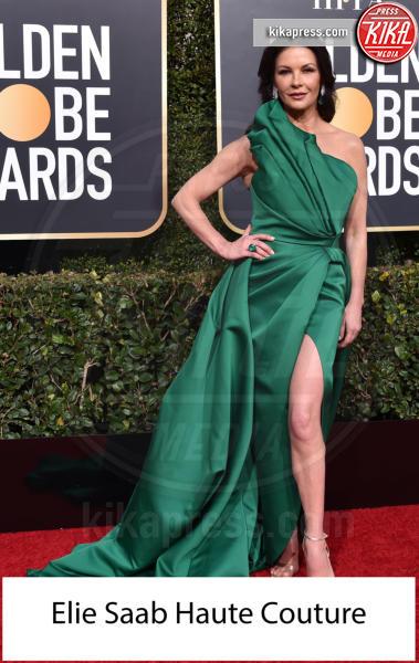Catherine Zeta-Jones - Beverly Hills - 06-01-2019 - Golden Globe 2019: gli stilisti sul red carpet