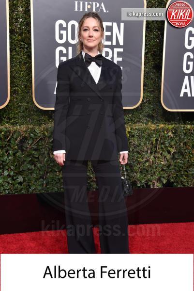 Judy Greer - Beverly Hills - 06-01-2019 - Golden Globe 2019: gli stilisti sul red carpet