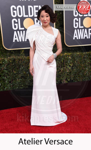 Sandra Oh - Beverly Hills - 06-01-2019 - Golden Globe 2019: gli stilisti sul red carpet