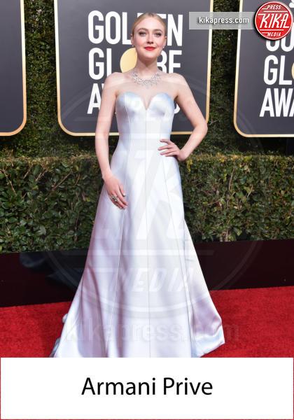 Dakota Fanning - Beverly Hills - 06-01-2019 - Golden Globe 2019: gli stilisti sul red carpet
