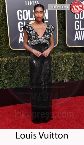 Laura Harrier - Beverly Hills - 06-01-2019 - Golden Globe 2019: gli stilisti sul red carpet