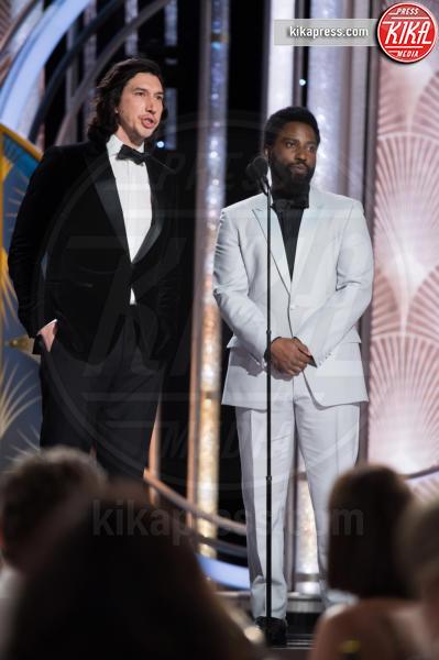 Adam Driver - 06-01-2019 - Golden Globe 2019: lo show sopra e sotto il palco