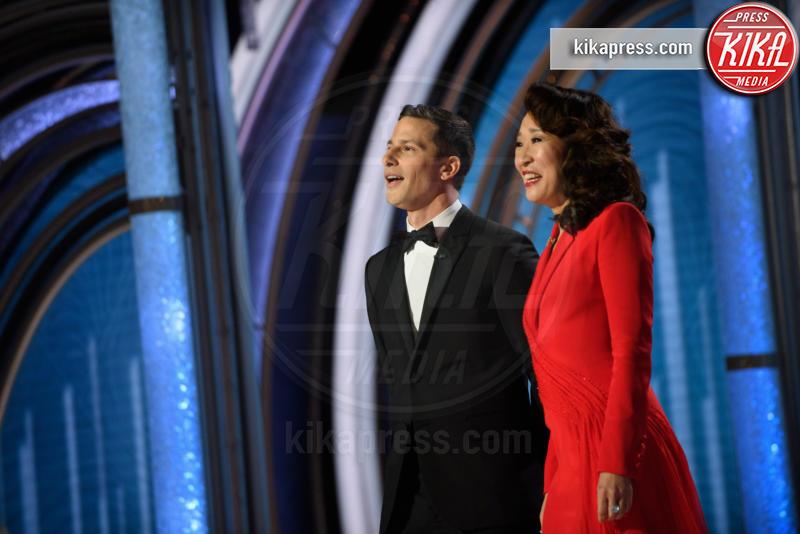 Andy Samberg - 06-01-2019 - Golden Globe 2019: lo show sopra e sotto il palco