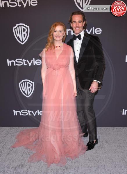 Kimberly Brook, James Van Der Beek - Beverly Hills - 07-01-2019 - InStyle party: Heidi Klum, che scollatura!