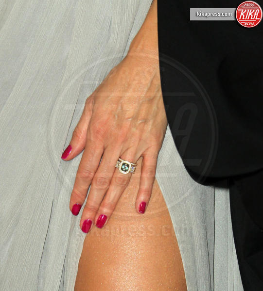 engagement ring, Heidi Klum - Los Angeles - 07-01-2019 - InStyle party: Heidi Klum, che scollatura!