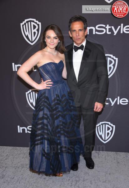 Ella Olivia Stiller, Ben Stiller - Beverly Hills - 06-01-2019 - InStyle party: Heidi Klum, che scollatura!