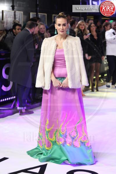 Sarah Paulson - Londra - 09-01-2019 - Sarah Paulson: un arcobaleno alla premiere di Glass