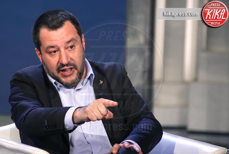 Matteo Salvini - Roma - 10-01-2019 - Sanremo 2019: Salvini contro Mahmood, interviene la Isoardi