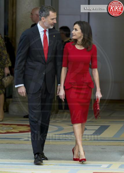 Madrid - 10-01-2019 - Letizia di Spagna: il profondo rosso visto e rivisto