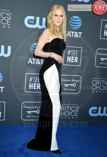 Nicole Kidman - Santa Monica - 13-01-2019 - Sanremo 2019, Virginia Raffaele-Kidman: chi lo indossa meglio?