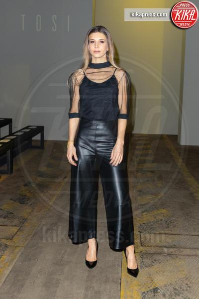 Nicoletta Romanoff - 25-01-2019 - Altaroma: nel backstage di Federica Tosi