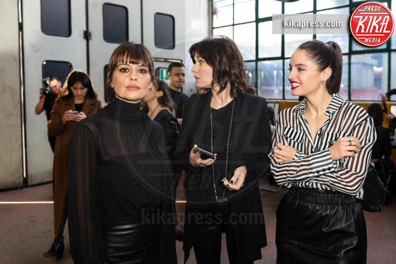 Matilde Gioli, Claudia Pandolfi, Sarah Felberbaum - 25-01-2019 - Altaroma: nel backstage di Federica Tosi