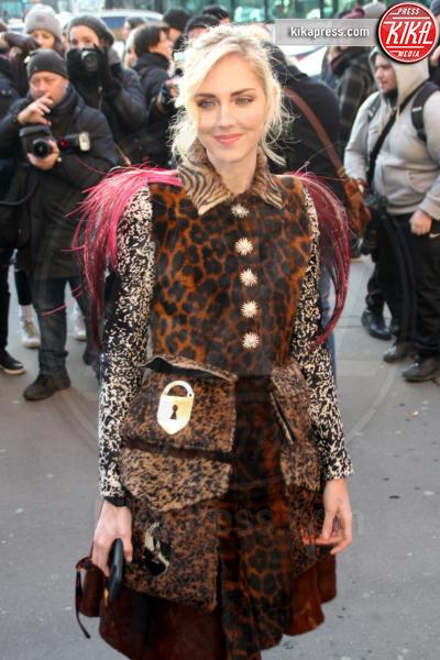 Chiara Ferragni - Parigi - 21-01-2019 - Briatore vs Ferragni: