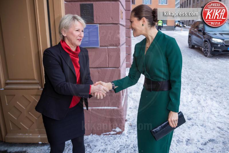 Stoccolma - 28-01-2019 - Victoria di Svezia sfida il ghiaccio: e' lei la regina delle nevi