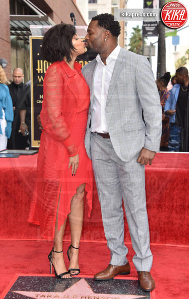 Kelvin Hayden, Taraji P. Henson - Hollywood - 28-01-2019 - Taraji P. Henson, una stella al bacio!