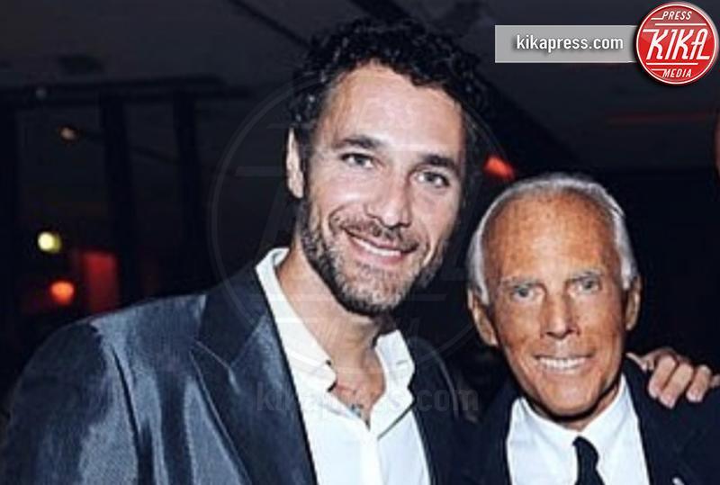 Raoul Bova e'... di moda: sara' Giorgio Armani in una fiction