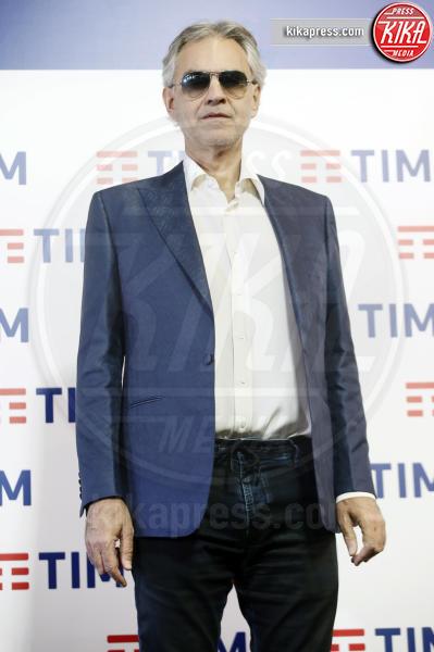 Andrea Bocelli - Sanremo - 05-02-2019 - Sanremo 2019, Andrea Bocelli porta all'Ariston il figlio Matteo
