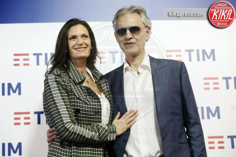 Veronica Berti, Andrea Bocelli - Sanremo - 05-02-2019 - Sanremo 2019, Andrea Bocelli porta all'Ariston il figlio Matteo