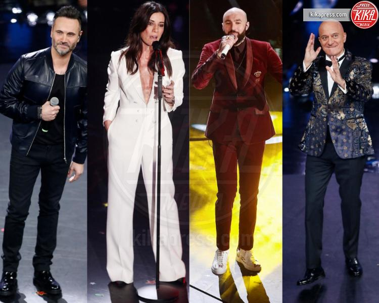 Festival di Sanremo 2019: i look piu' belli della prima serata