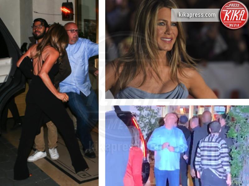 Pitt ospite d'onore al party dei 50 anni di Jennifer Aniston