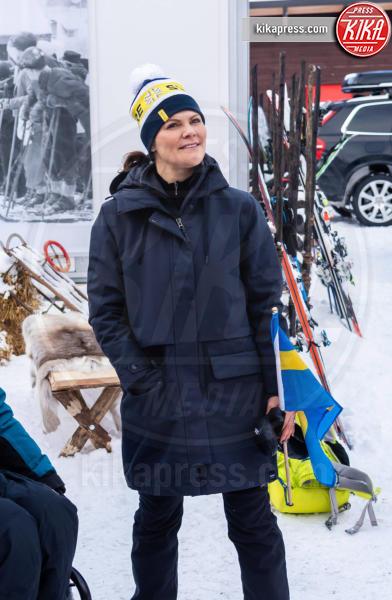10-02-2019 - Victoria di Svezia: neanche l'infortunio l'allontana dagli sci