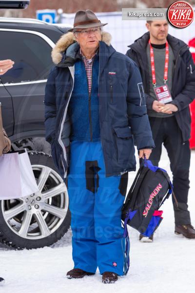 King Carl Gustaf - 10-02-2019 - Victoria di Svezia: neanche l'infortunio l'allontana dagli sci