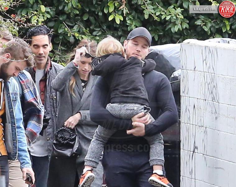 Chris Pratt - LA - 10-02-2019 - Chris Pratt in chiesa dopo le feroci critiche di Ellen Page